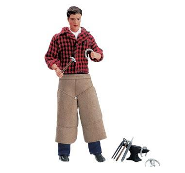 "Breyer - Farrier with Blacksmith Tools 8"" Figure"