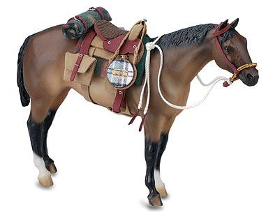Breyer Man-Made Leather Western Riding Set
