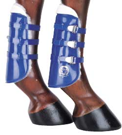 Equi-Guard Fleece Lined Open Front Jump Boots