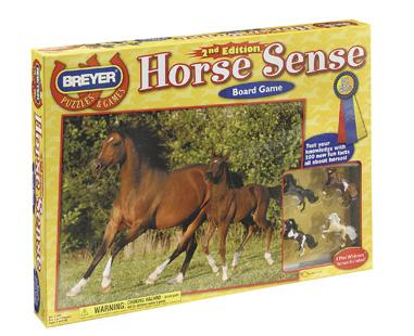 Breyer - Horse Sense Board Game 2nd Edition