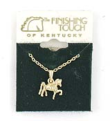 Finishing Touch 3-D Saddlebred Pendant
