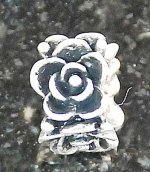Joppa Rose Spacer Bead