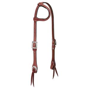 Weaver Trailblazer Flat Sliding Ear Headstall