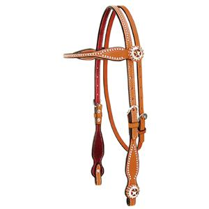 Weaver Texas Star Browband Headstall