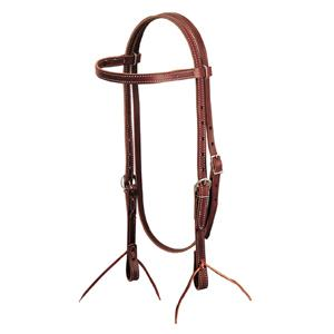 Weaver Latigo Leather Browband Headstall