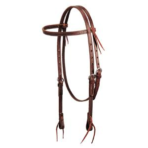 Weaver Deluxe Latigo Leather Browband Headstall