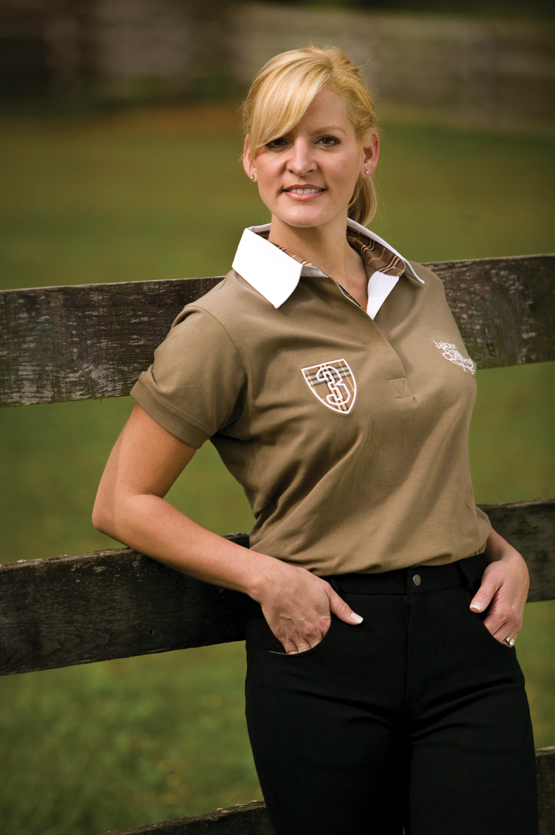 Jaipur Polo Company Ladies Longsleeve Classic Polo Shirt
