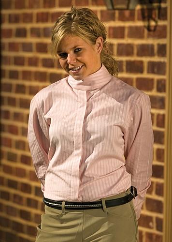 TuffRider Ladies Longsleeve Indio Show Shirt