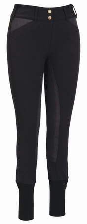 TuffRider Soft Shell Wide WaistBand Full Seat Breeches