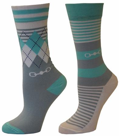TuffRider Dixie 2 Pack Socks