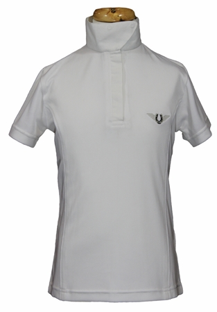 TuffRider Kirby Kwik Dry Short Sleeve Show Shirt