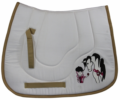 TuffRider Bff Pony Saddle Pad