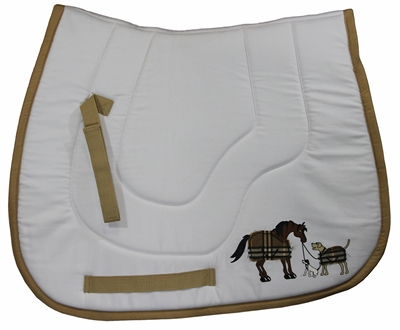TuffRider Trio Pony Saddle Pad