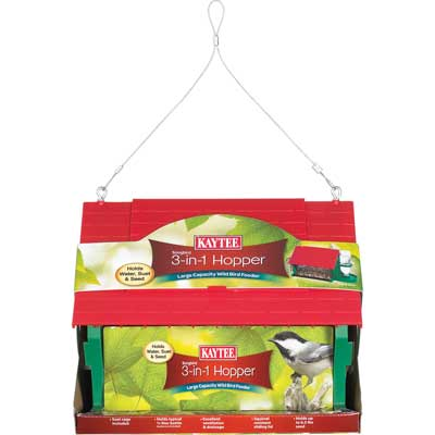 Kaytee Songbird 3-in-1 Hopper Feeder