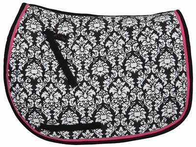 Equine Couture Damask Dressage Saddle Pad