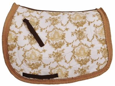 Equine Couture Tea House Dressage Saddle Pad