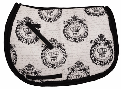 Equine Couture Royal Crown All Purpose Saddle Pad