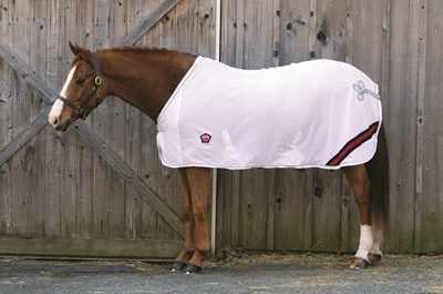 Equine Couture Regal Scrim Sheet With Ornament