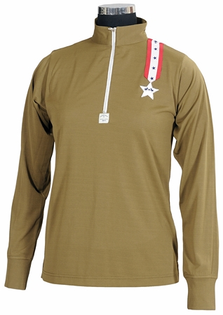 Equine Couture Stars & Stripes Polo Long Sleeve Ladies