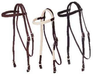 Hollow Cotton Cord Browband Headstall