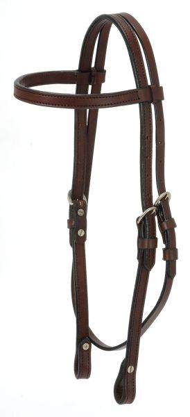 Silver Royal Show Browband Headstall