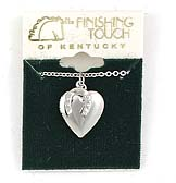 Finishing Touch Horseshoe/Heart Locket