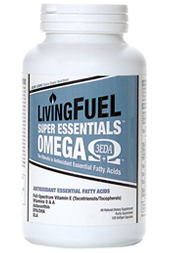 LivingFuel's Super Essentials Omega Softgel Capsules