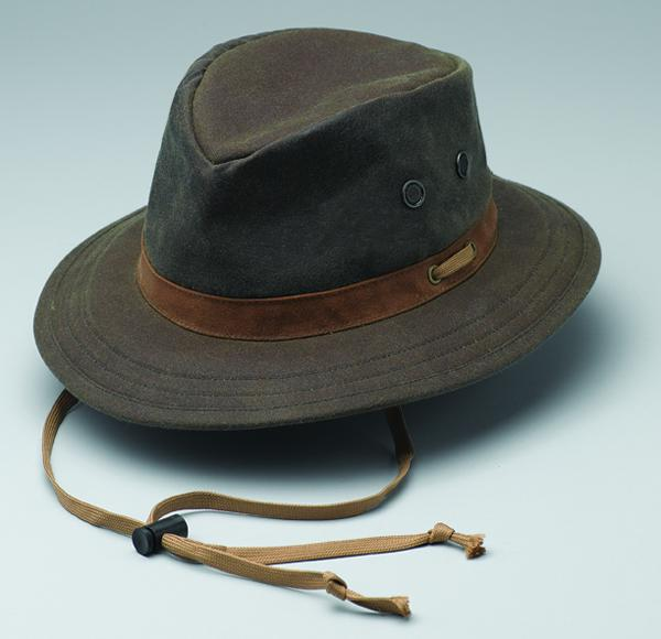 Outback Oilskin Willis Hat