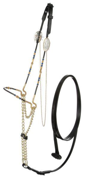Royal King Beaded Miniature Show Halter