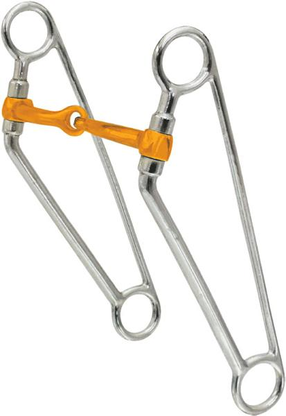 Abetta Braced Cheek Snaffle with Coppermouth Bit