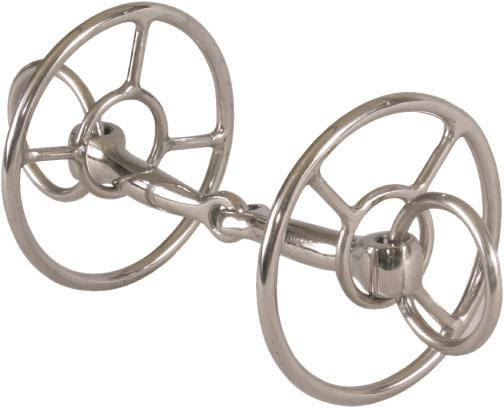 Abetta Double Ring Snaffle Bit