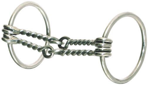 Abetta Double Wire Snaffle Bit