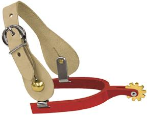 Abetta Aluminum Spurs With Straps