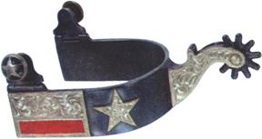 Abetta Texas Flag Spurs