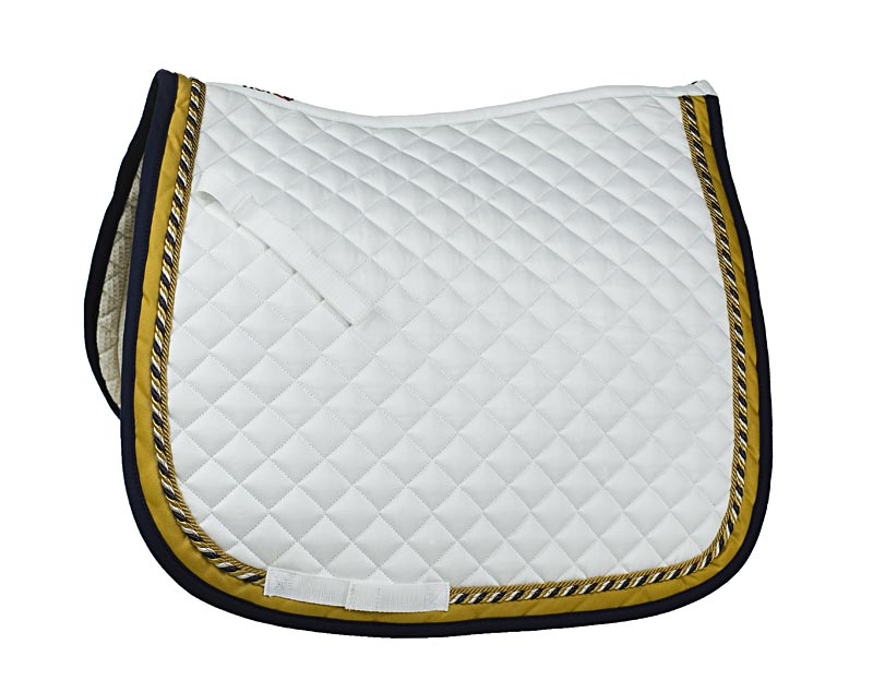 HORZE Two Cord Saddle Pad, Dressage