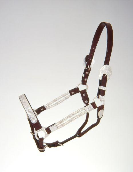 Royal King Silver Ferrules Show Halter