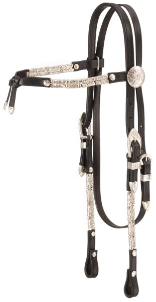 Royal King Ferruled Futurity Brow Show Headstall
