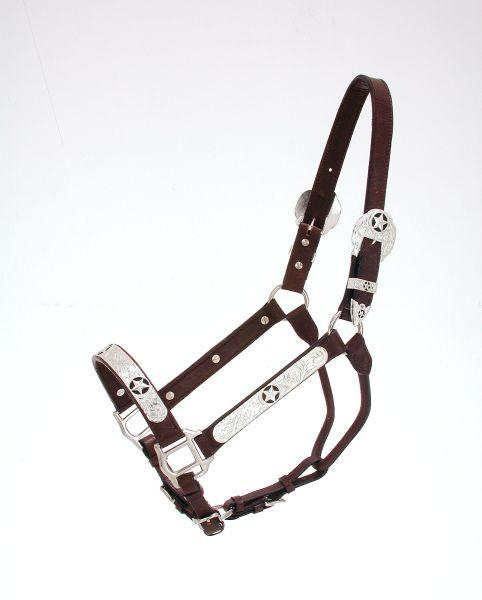 Royal King Black Star Silver Show Halter