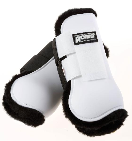 Roma Fleece Lined Open Front Boots