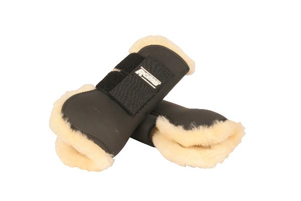 Roma Sheepskin Lined Open Front Boot