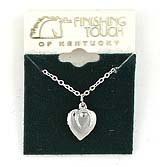 Finishing Touch Mini Horseshoe & Heart Locket