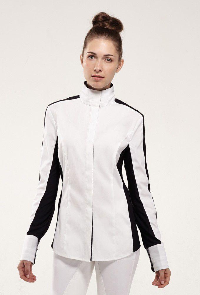 NOEL ASMAR Equestrian Noir Show Shirt - Ladies