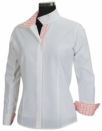Equine Couture Isabel Coolmax Show Shirt - Ladies Plus Size