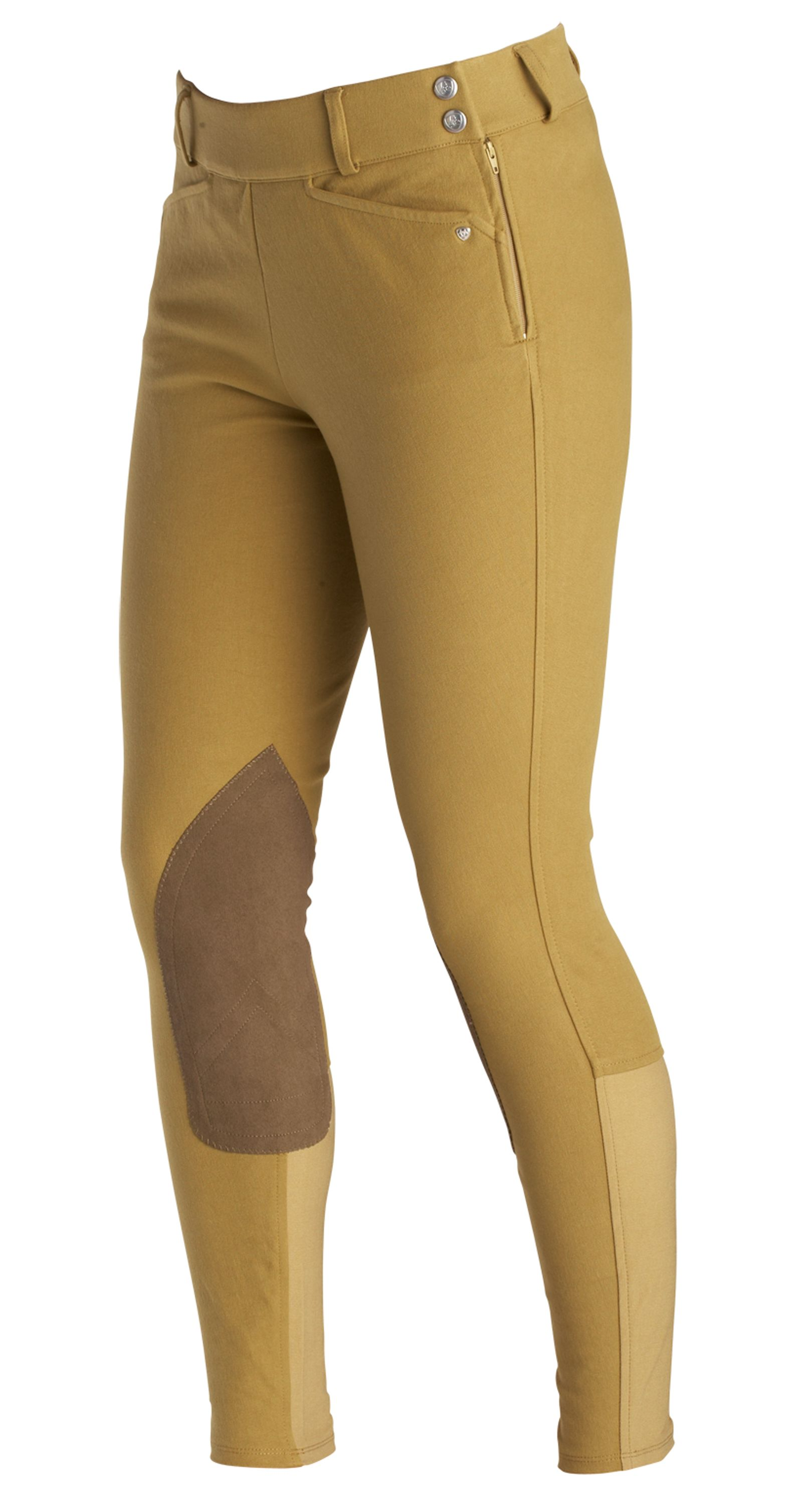 Ariat Ladies Heritage Low Rise Side Zip Riding Breeches