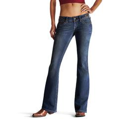 Ariat Ladies Ruby Side Tab Bootcut Jeans