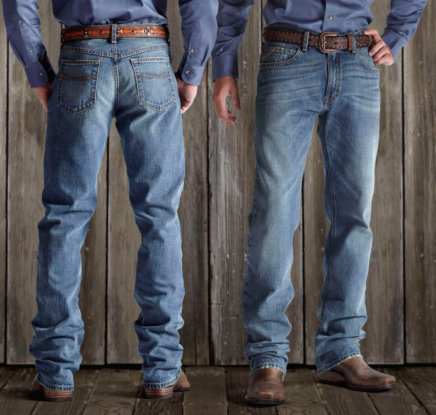 Ariat M2 Relaxed Straight Cut Jeans - Mens