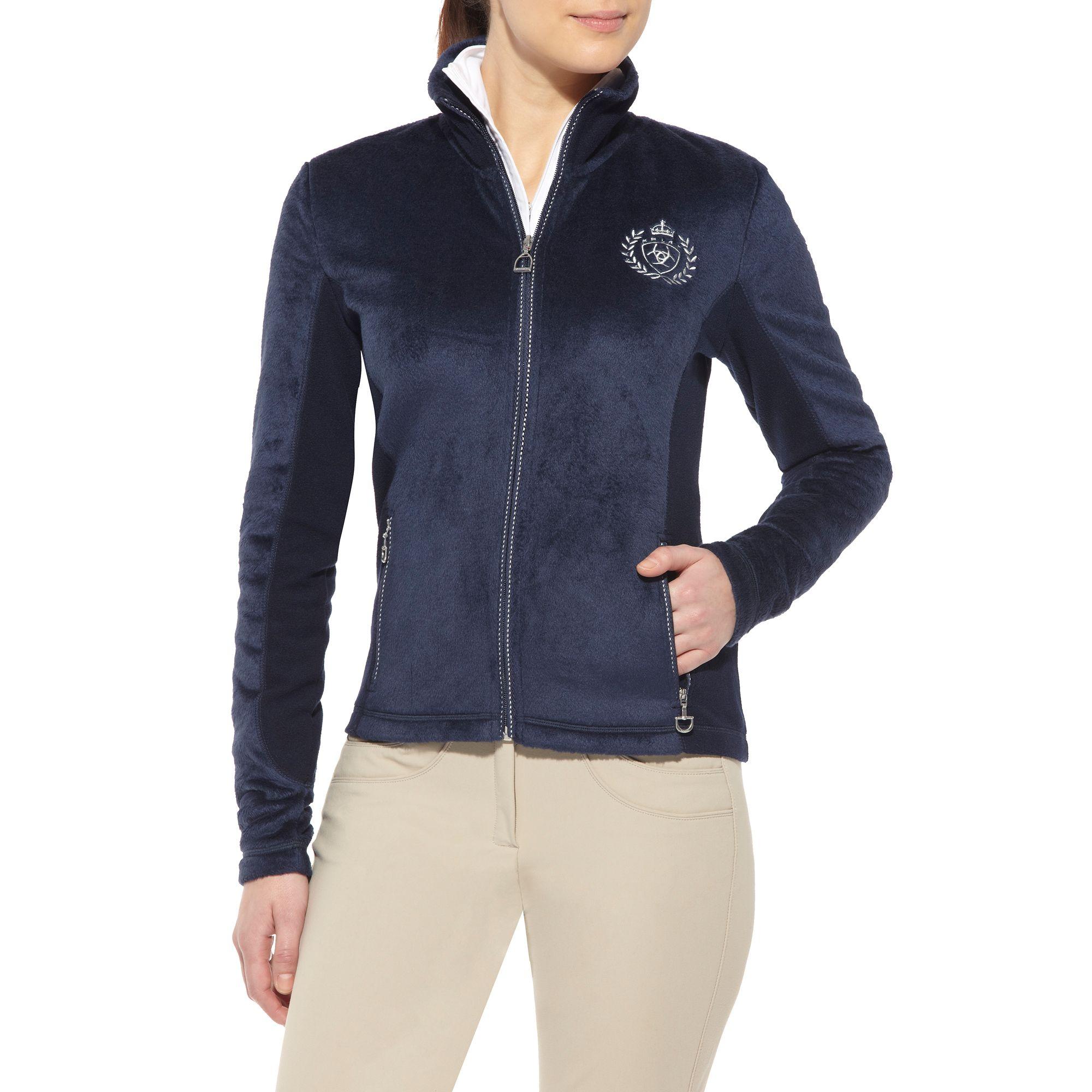 Ariat Stella Fleece Jacket - Ladies, Navy