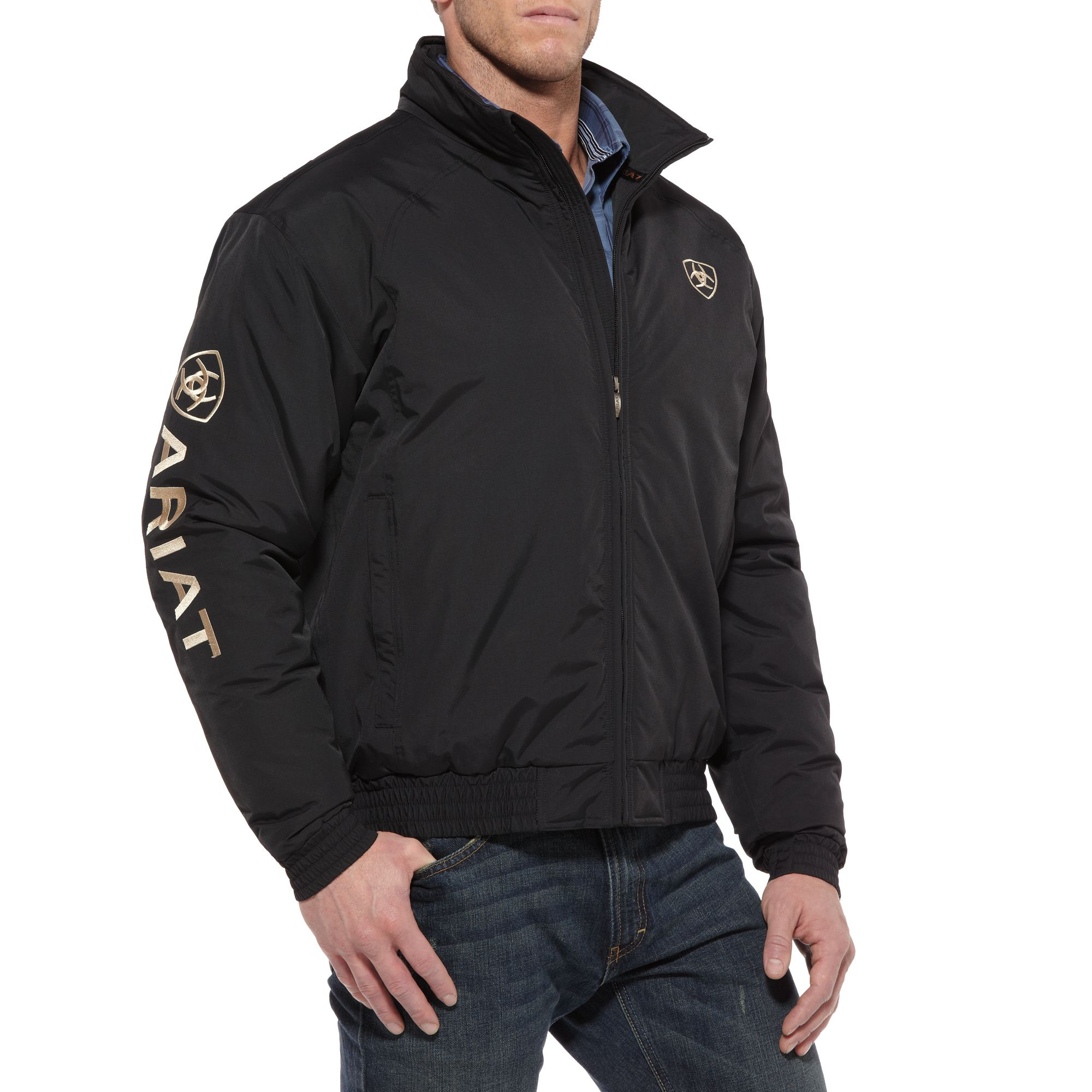 Ariat Team Jacket - Mens, Black