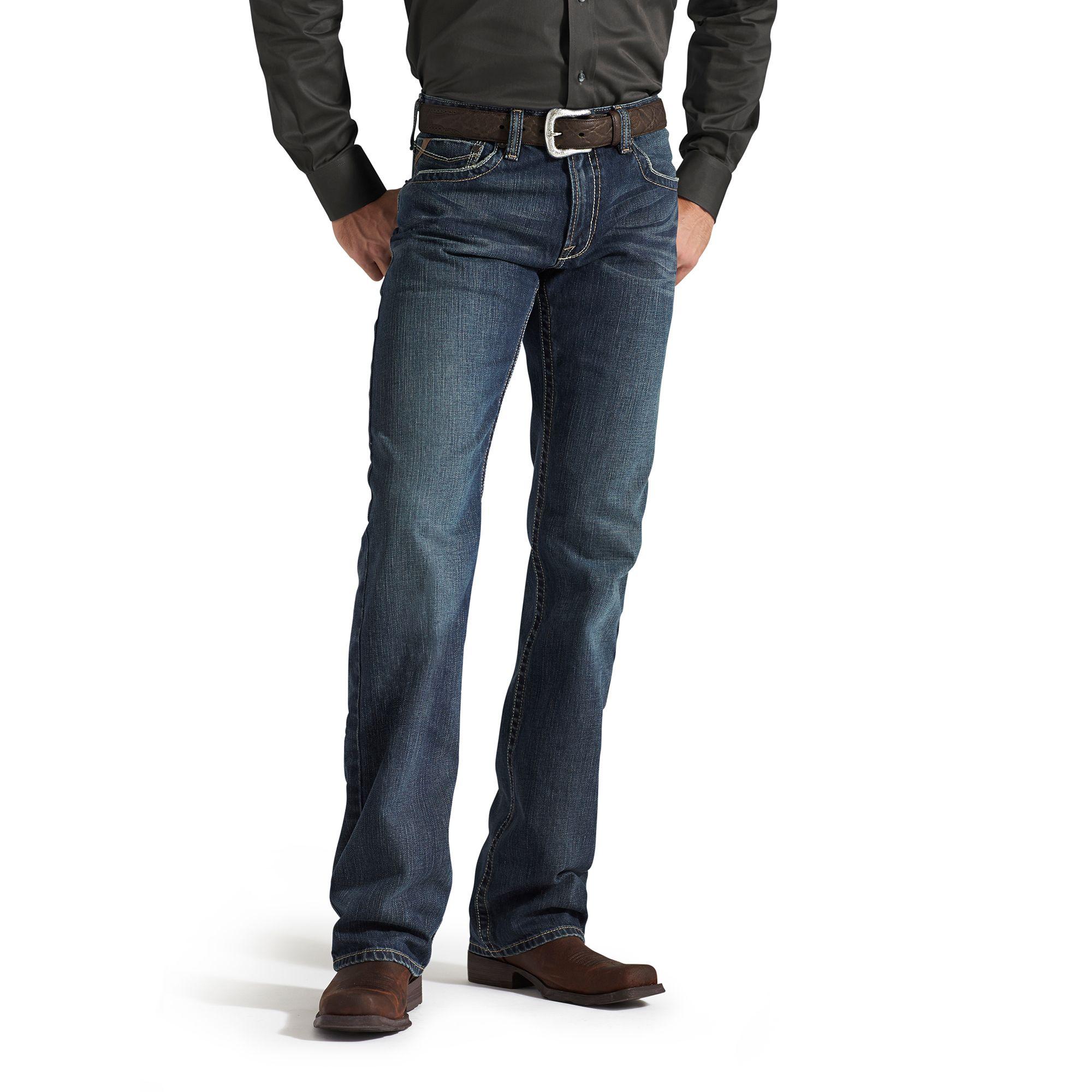 Ariat M4 Boot Cut Denim Jeans - Mens, Deadrun