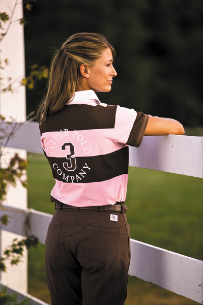 Jaipur Polo Aiken Rugby Long Sleeve Shirt Ladies